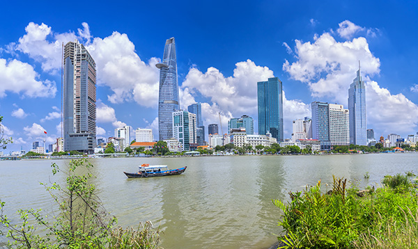 Ho Chi Minh City Skyline Awesome Entertainment Travel Blog