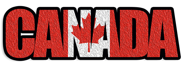 Canada Text with Flag Awesome Entertainment Travel Blog Pixabay Image
